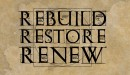 Rebuild Restore Renew Recovery -  Finishing Strong