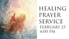 Lenten Service of Prayer  February 25