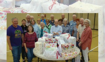 Christians in Action Wrap Boxes for Bay Area Turning Point